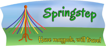 The logo of Springstep Maypole.